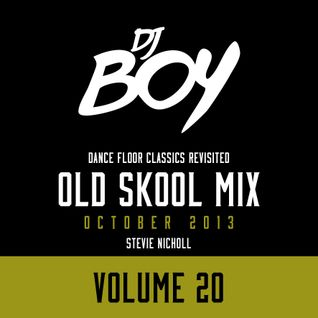 DJ Stevie Nicholl - Old Skool Mix Vol 20 (October 2013)