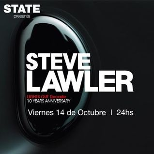 Steve Lawler - Live at Lights Out Decade 10th Anniversary, STATE BA, Argentina (15-10-2011)