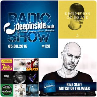 DEEPINSIDE RADIO SHOW 128 (Riva Starr Artist of the week)