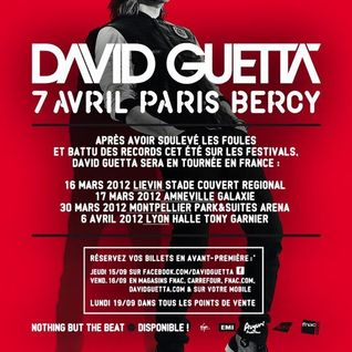 David Guetta - Live @ Paris Bercy (Paris, France) - 07.04.2012