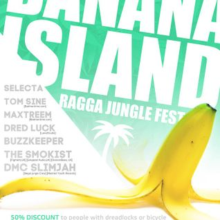 Maxtreem vs. DMC Slimjah - Banana Island Fest@Cinema Club - 07.11.15 (Live RaggaJungle Set)