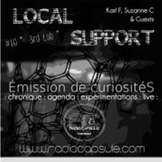 Local Support #10 @ La SemenceRIE avec 3rd LAB 2012 04 25