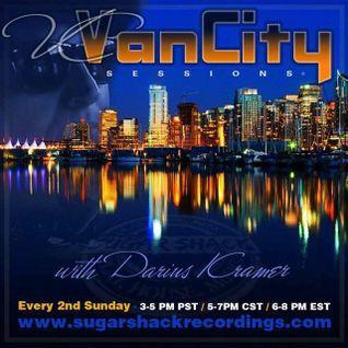 VanCity Sessions With Darius Kramer on Sugarshack Radio | April 2016 Edition