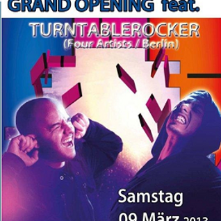 TomRhythm @ GRAND OPENING CORclub feat. Turntablerocker 9 March 2013