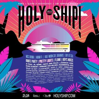 Alex Metric b2b Oliver - Live @ Holy Ship (Half Moon Cay, Bahamas) - 05.01.2015