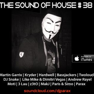 Parax- The Sound Of House Podcast Episode # 38(Live @ Halloween Night)