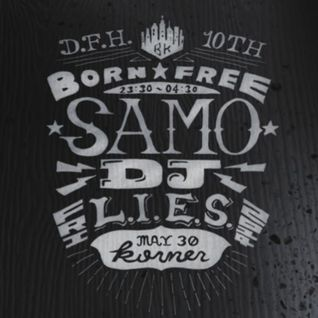 Warm-up set for Samo DJ (Korner, Taipei, 2014/05/30)