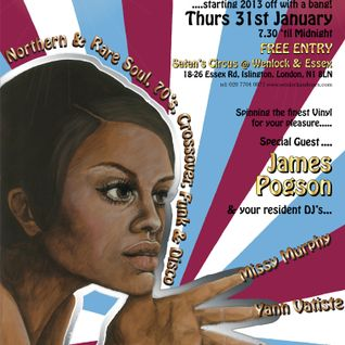 MASTERS OF SOUL! with JAMES POGSON & Friends!! JAN 2013