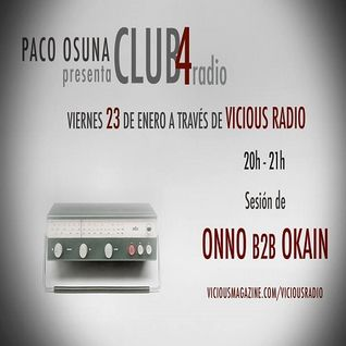 Onno b2b Okain - Live At Club4 (Barcelona) - 15-Jan-2015