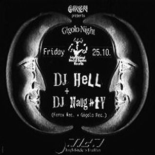 Dj Hell @ Gigolo Night - Omen Frankfurt - 25.10.1996