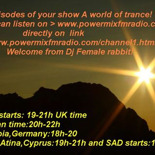 A world of trance pod.001-Powermix Fm radio