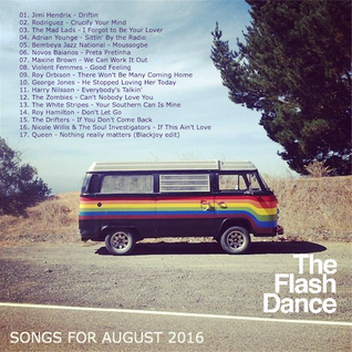 SONGS FOR AUGUST 2016