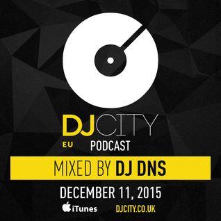 DJ DNS - DJcity Benelux Podcast - 11/12/15