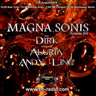 Dirk - Host Mix - MAGNA SONIS 009 (17th August 2016) on TM-Radio