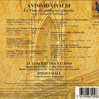 VIVALDI - Concerto RV565 a 2 violini e basso - (con Le Concert Des Nations · Jordi Savall)