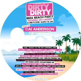 DirtyDirty's Free Ibiza Beach Party Mix