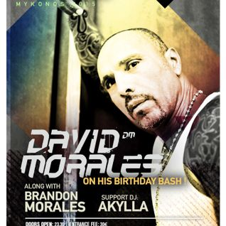 David Morales (Birthday Bash) - live at Cavo Paradiso, Mykonos - 21-Aug-2015