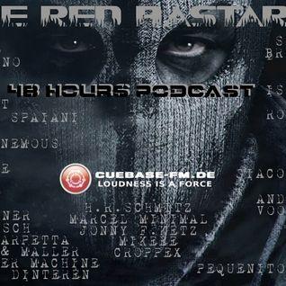 CUEBASE FM RedBastards 48 Hours 48 DJ's Marathon KlaudeAnonemous Set