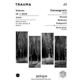 Muted @ Trauma #02 (Madrid 18.07.2015)
