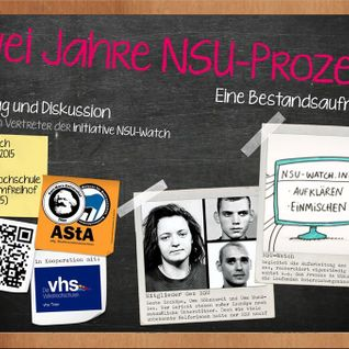 NSU-Watch: Zwei Jahre NSU-Prozess. Eine Bestandsaufnahme (10. Juni 2015)