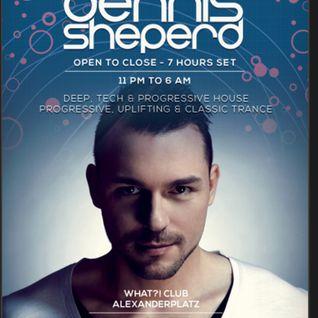 Dennis Sheperd – Live @ What Club (Berlin, Germany) – 20.09.2014