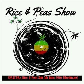 SENATOR,s Rice & Peas Sun 5th June 2016 Vibesfm.net