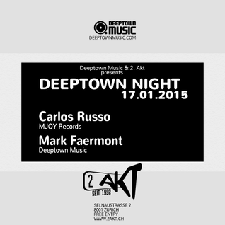 Mark Faermont & Carlos Russo Live At 2. Akt Zurich (17|01|2015)