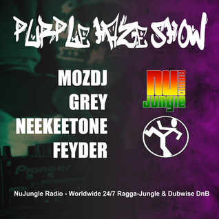 Purple Haze Show - MOZDJ & GREY @ NuJungle.Com (04.03.2016)