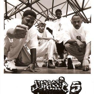 Wake Up Show '96 featuring Jurassic 5 with Cut Chemist & DJ Numark