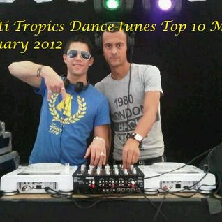 Dance-Tunes House Top 10 mix Januari by Multi Tropics