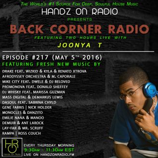 BACK CORNER RADIO: Episode #217 (May 5th 2016)