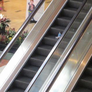 Little Boy Escalator