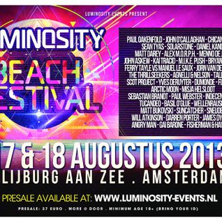 Gai Barone - Patterns 038 Live @ Luminosity - August 2013