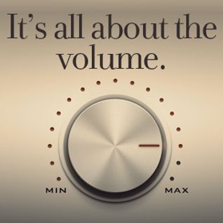 It's All About The Volume