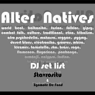 *Alter Natives* French Proto-Garage Grooves