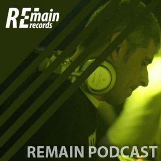 Remain Podcast 40 mixed by Axel Karakasis