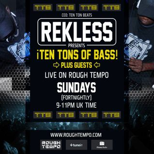 Ten Tons of Bass show with MC D Low, Drastik & Special guest Shortston