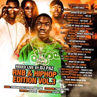 DJ PAZ RNB & HIP HOP VOL.3