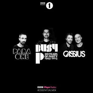 Ed Banger Special (Busy P,Cassius & Para One) @ Essential Mix - (17.10.2015)