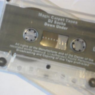 Magic Carpet Tapes (side 1) - DJ Sasha Downunder, March 1992