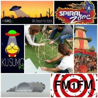 FM1FM - Burning Man / Israel Midburn Special - SPIRAL ZONE Ep. 11 - With Commander Fenice