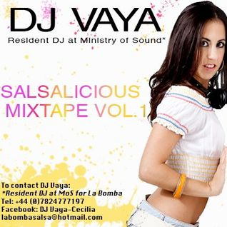 Salsalicious, The Mixtape vol. 1 by DJ Vaya