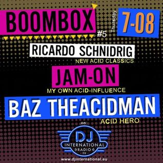 BazTheAcidMan - Kiwa-Limi presents Boom Box 7th August 2014