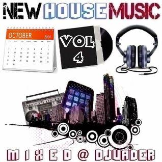 New House Trackz - Oct 2k16 - Vol.4 (Mixed @ DJvADER)
