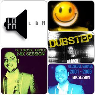 LocoLDN.com Oldskool Genre + My Bootlegs Show (12.12.2014)