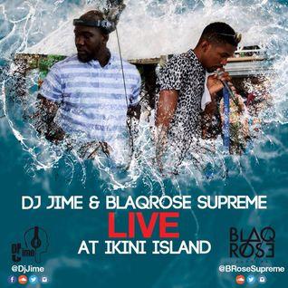 DJ JIME AND BLAQROSE SUPREME LIVE AT IKINI ISLAND BARBADOS (PART 2)