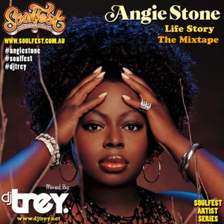 Angie Stone: Life Story (The Mixtape) - Mixed By Dj Trey (2014)