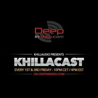 KhillaCast #056 16th September 2016 - Deepinradio.com