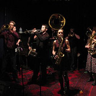 Brass Menazeri Balkan Brass Band - live set in the KAOS studios 25 Jan 2013