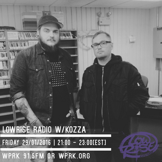 LowRise Radio w/Kozza 29/01/2016